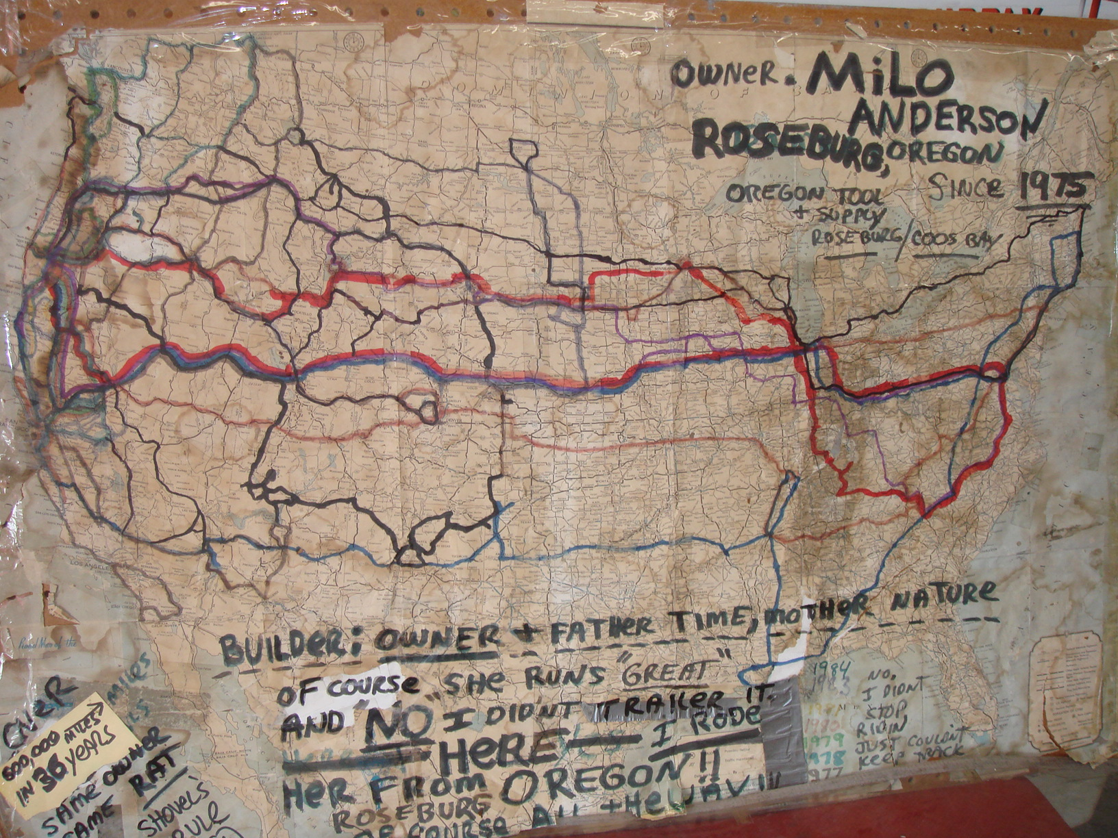 the MAP of miles & smiles
