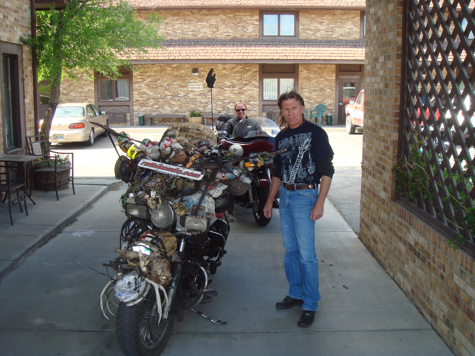 Gary, a rider who checked us in