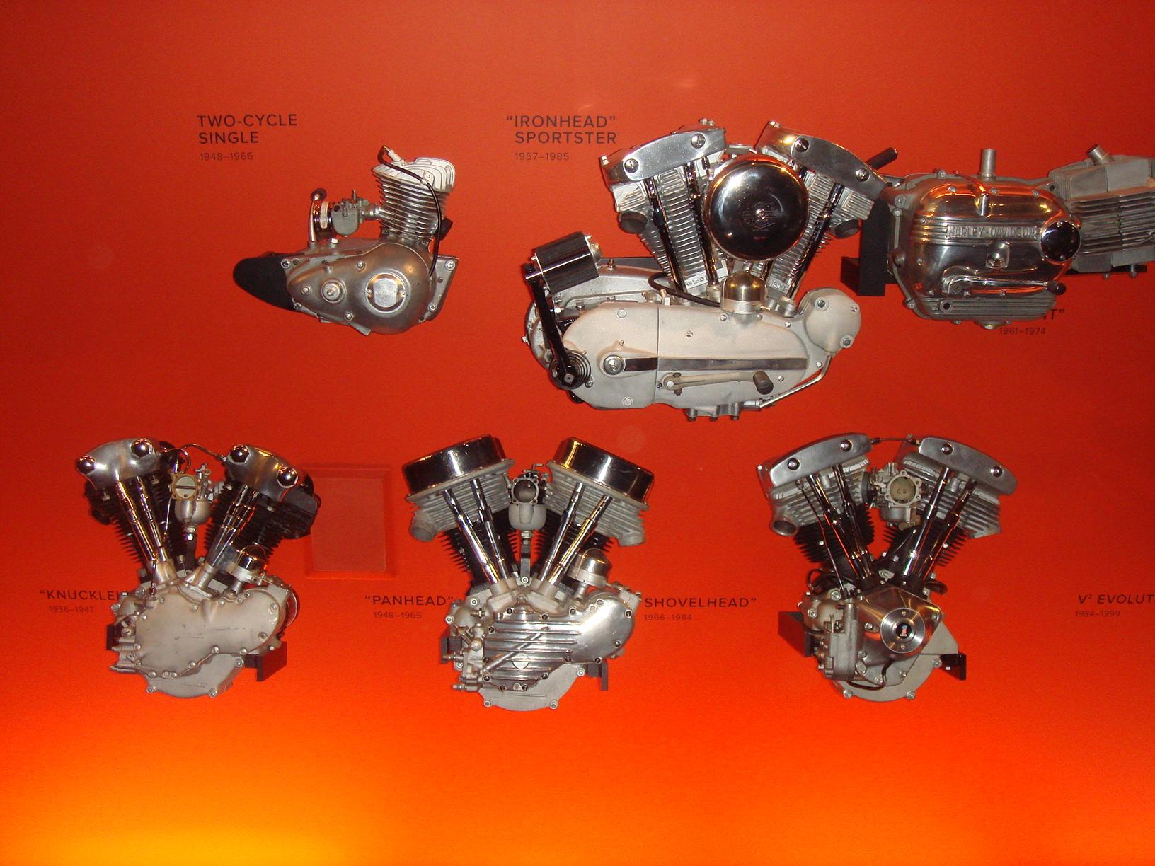 Knuck, Pan, Shovel, Harley's 3 best engines